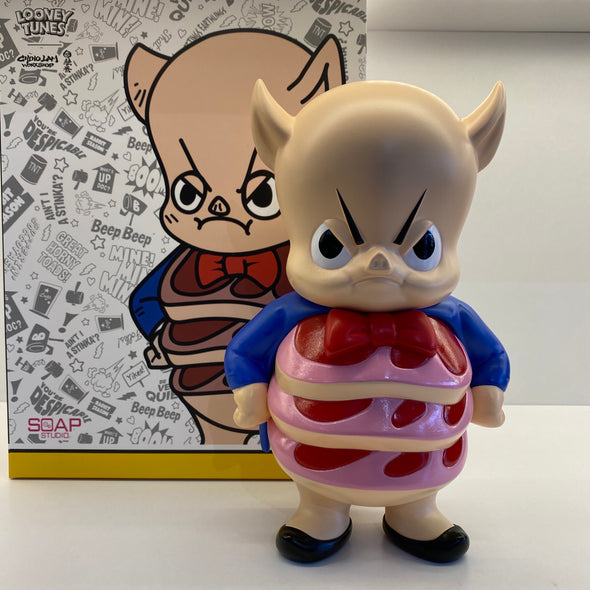Looney Tunes X Soap Studio X Chino Lam Get Animated Porky Pig