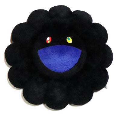 Takashi Murakami Plush Rainbow Flower (Black)