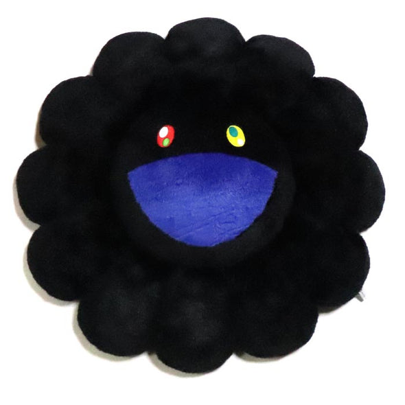 Takashi Murakami Plush Rainbow Flower (Black) 30/60 cm