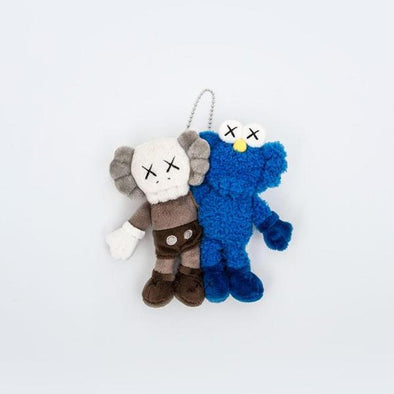 "KAWS Seeing / Watching Limited Edition 5.5"" Plush keychain"