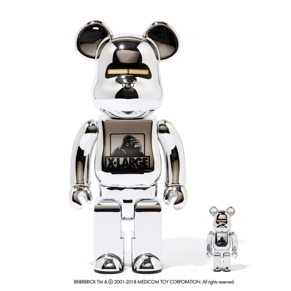 SORAYAMA x XLARGE Be@rbrick Set 400% &100% (With Signature)
