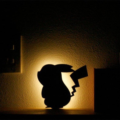 Pokemon Pikachu Wall Light Led