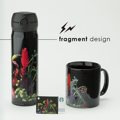 Limited Edition Starbucks Japan Tumbler and Cup By Fragment Design & Mokoto Azuma