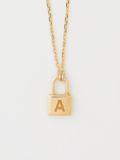 "AMBUSH  ""PETIT"" SERIES PADLOCK NECKLACE"