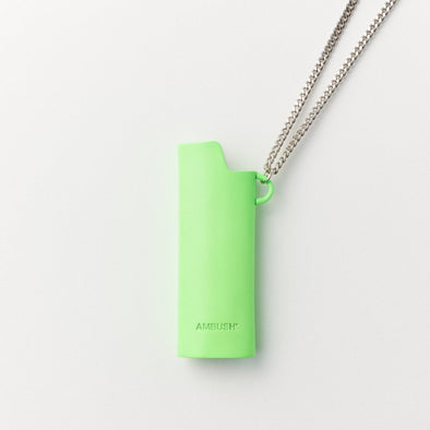 Ambush Lighter Case Necklace (Green)