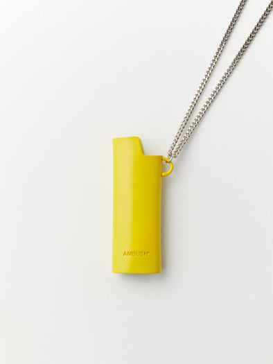 Ambush Lighter Case Necklace (Yellow)