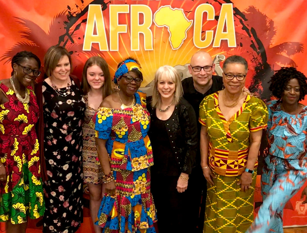 A Taste of Africa 2017 a few of the fundraiser gala volunteers and board members