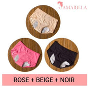 La culotte menstruelle Miss Independent | Lot de 3 - 351