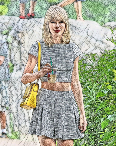 Taylor Swift FameArt