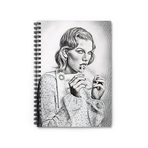 Taylor Swift Spiral Notebook