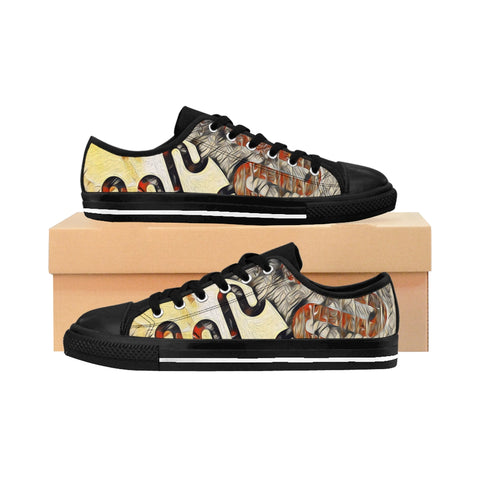 Abstract Men's Sneakers