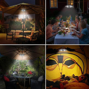 Super Bright Patio LED Umbrella Light-TECHMONOVO