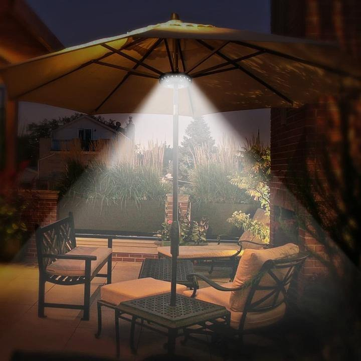 Super Bright Patio LED Umbrella Light