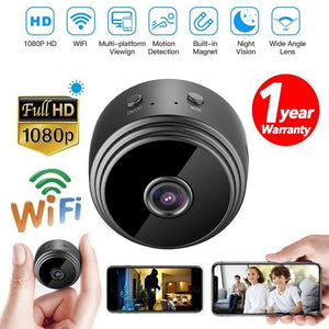 A9 WiFi 1080P Full HD Camera Night Vision Wireless IP-TECHMONOVO