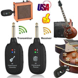 Guitar Wireless System Transmitter & Receiver-TECHMONOVO