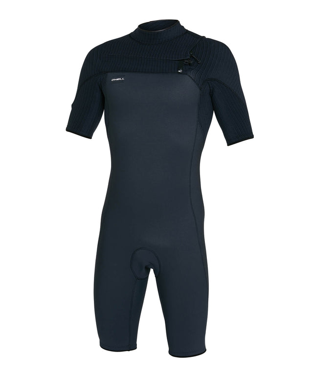 Hyperfreak 2mm Spring Suit Chest Zip Wetsuit - Gunmetal