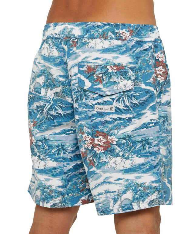 Archy Slacker Shorts - Capri Blue