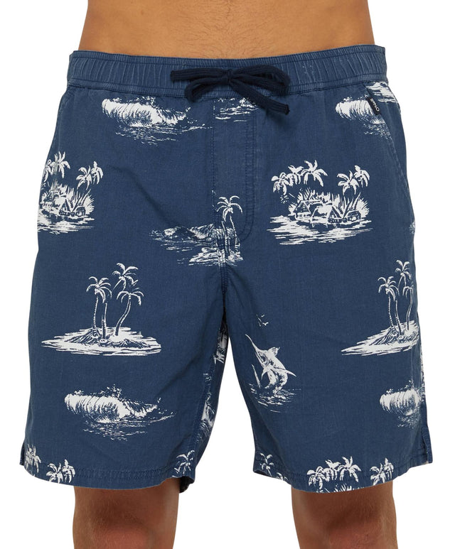 Trawler Slacker Shorts - Light Navy