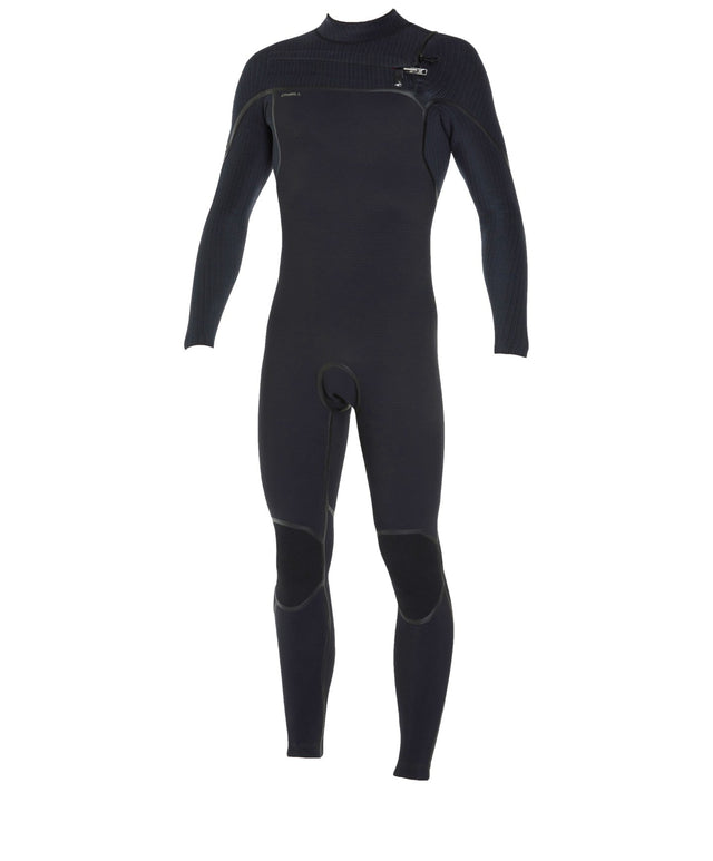 O' Limited Series 3/2mm Steamer Chest Zip Wetsuit - Black
