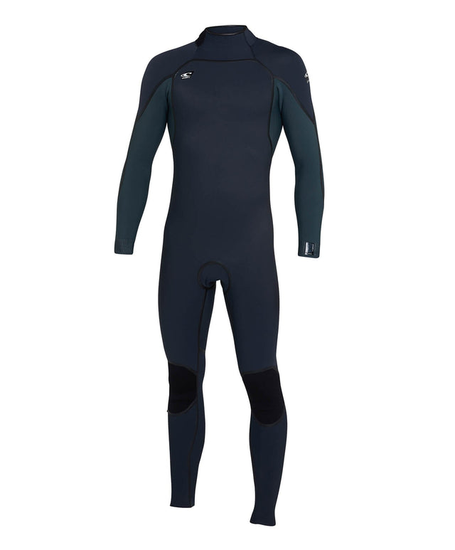 Psycho One 3/2mm Steamer Back Zip Wetsuit - Gunmetal