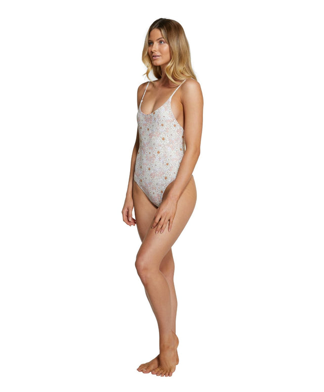 Desert Revo One Piece Swimsuit - Peach Floral