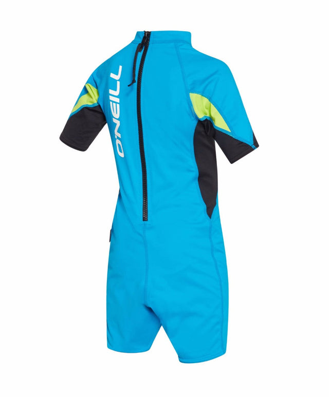 Boys Toddler Ozone Spring Rash Suit - Sky Black Lime