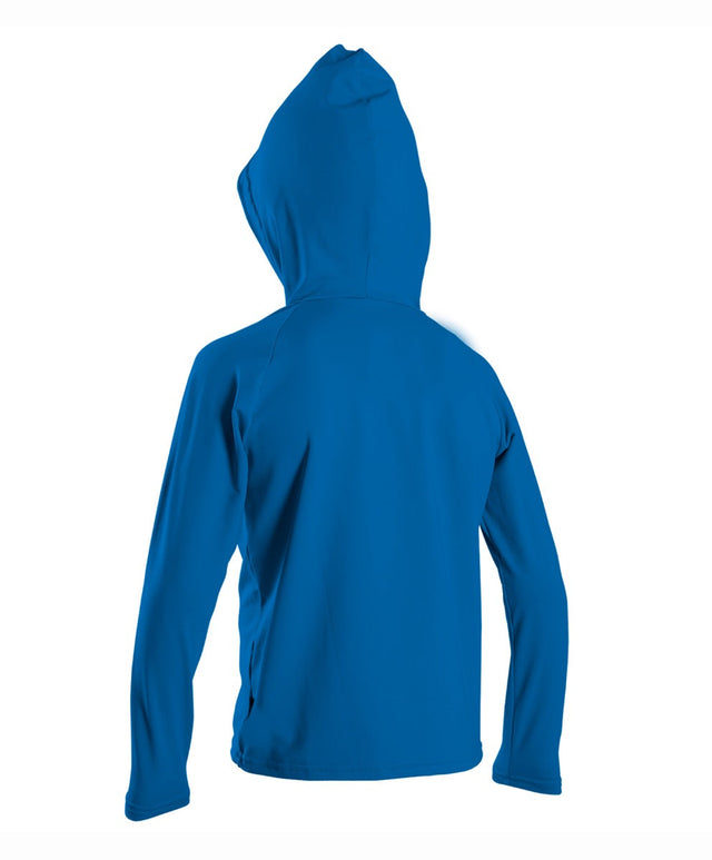 Toddler Premium Skins Hooded Rash Vest - Ocean