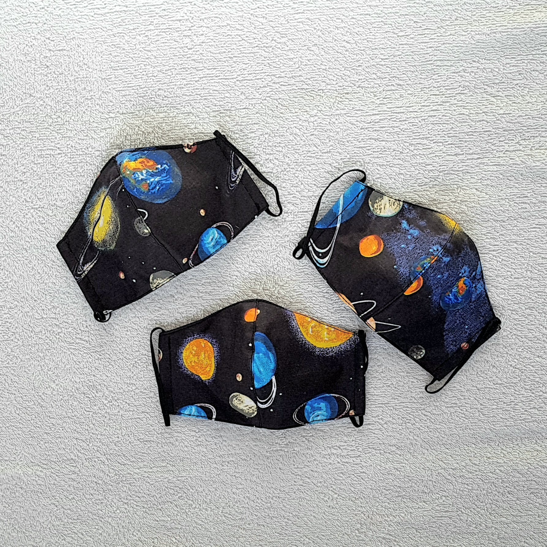 Children and infants planet masks