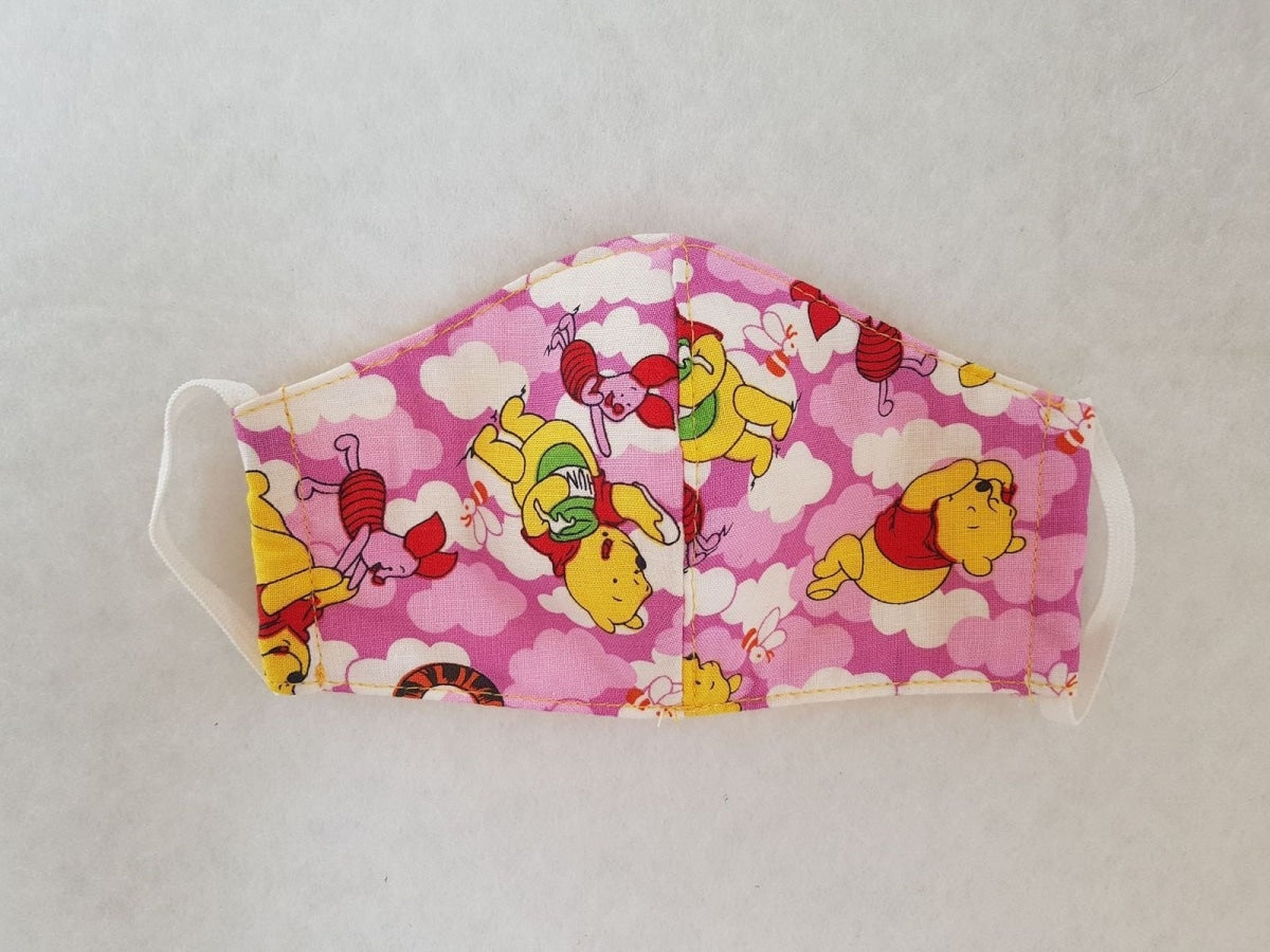 Cotton mask for infant - Winnie the Pooh - Molteno