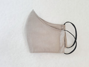 Cotton mask - grey - Molteno