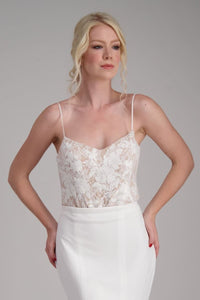 KAREN FIT AND FLARE - Wedding Dress Molteno
