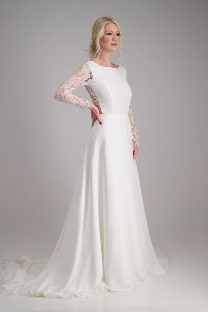 KELSEY CHIFFON - Wedding Dress Molteno