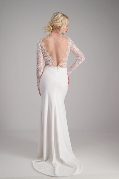 KELSEY FIT AND FLARE - Wedding Dress Molteno