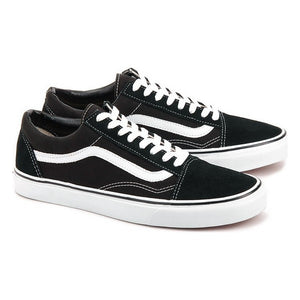Men's Casual Trainers Vans Old Skool Black