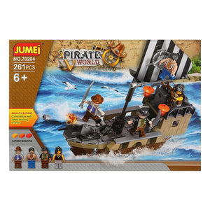 Building Game + Figures Pirate World 119634 (261 pcs)