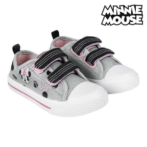 Children's Casual Trainers Minnie Mouse Silver