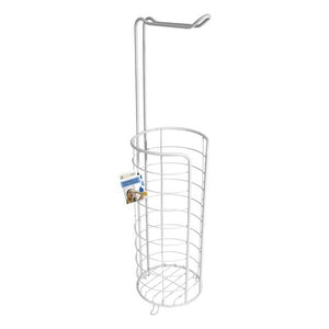 Toilet Roll Holder Confortime White (ø 16 cm)