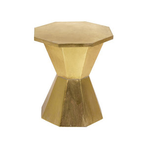 Side Table Golden Iron (44 x 44 x 51 cm)
