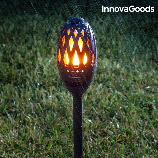 InnovaGoods LED Flame Lamp & Bluetooth Speaker