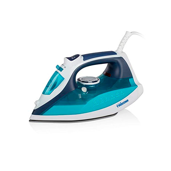 Tristar ST-8330 Steam Iron 0.35 L 2600W White Turquoise Blue