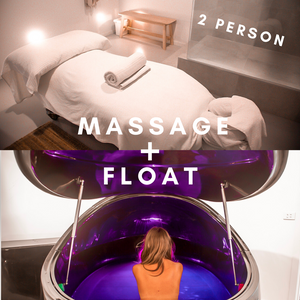 Massage + Float (2 person)