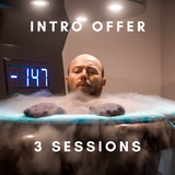Cryo Sauna (Intro offer) - 3 Session Pack