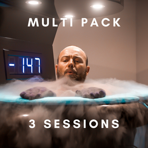 Cryo Sauna - 3 Session Pack