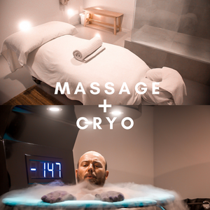 Massage + Cryo Sauna