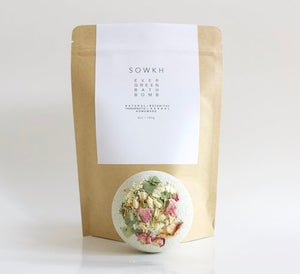 SOWKH - Bath bomb - Evergreen