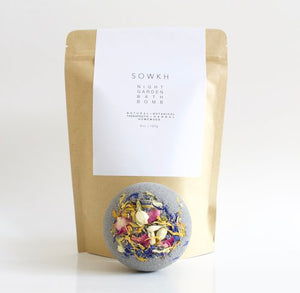 SOWKH - Bath bomb - Night garden bath bomb
