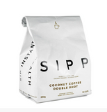 Sipp Instant Coffee - Coconut Double Shot Coffee - 250 grams