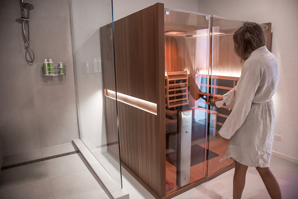 Float + Infrared Sauna