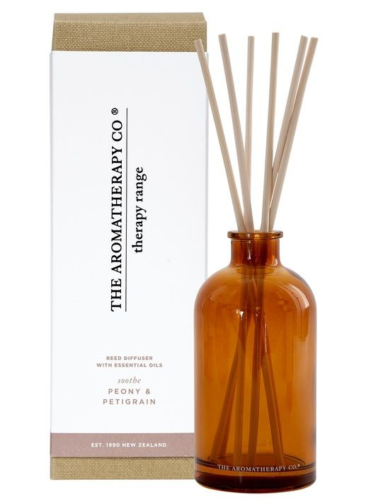 Aromoatherapy Co - Peony and Petitgrain - Therapy Diffuser - 250ml