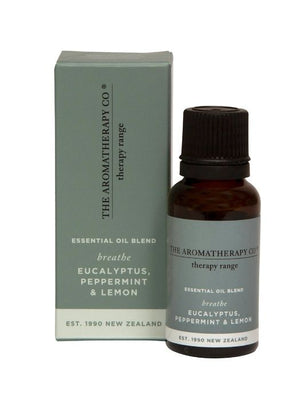 Aromoatherapy Co - Breathe - Therapy Essential Oil Blend - 20ml